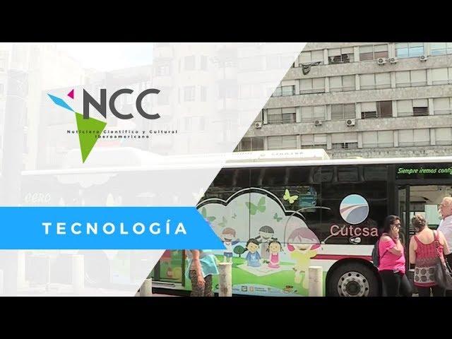 Ruta Electrica para autobuses - URU - EFE / Tecnología / NCC 27 / 12 02 18