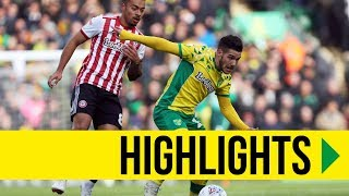 HIGHLIGHTS: Norwich 1-0 Brentford