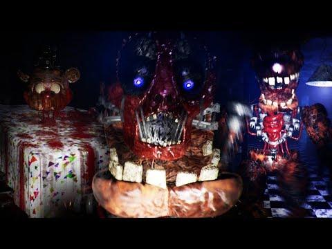 A HUMAN BODY FOUND INSIDE OF FREDDY  Five Nights at Freddys Night Lock