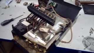 Попал в ремонт частотный преобразователь 22 кВт(Частотный преобразователь 22 кВт принят в ремонт после шести лет работы в экстримальных условиях деревообр..., 2015-10-16T08:21:38.000Z)