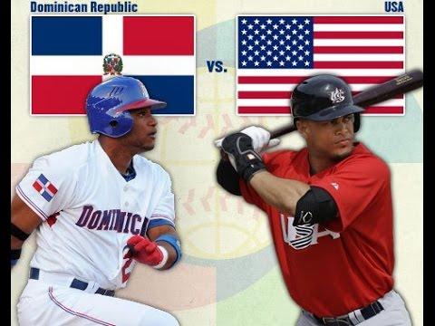 WBC 2017: USA VS DOMINICAN REPUBLIC HD