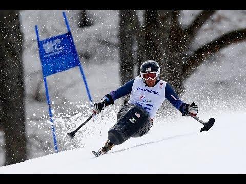 Chris Devlin-Young   Men's super-G sitting   Sochi 2014 Paralympic Winter Games
