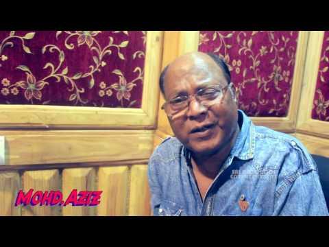 भोजपुरी फिल्म के लिए मोहमद अजीज ने गया गाना - Mohd. Aziz Recorded Song