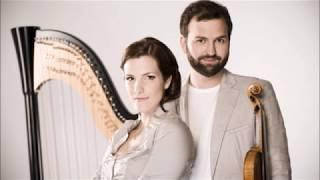 adagio harpe, violon, Valérie Milot, Antoine Bareil, Pierre Chatillon