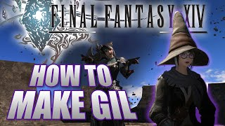 FFXIV How to Make Gil in Final Fantasy 14 Heavensward (NO CRAFTS NEEDED)