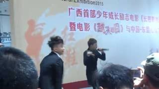 HKT live show in CHINA 20150526 HKT南宁会展中心表演