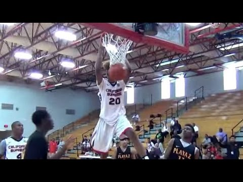 Watch Shaq's Son Shareef O'Neal Puts on a Dunking Show!