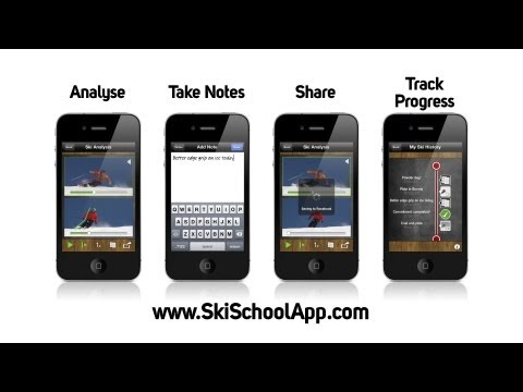 Learn How to Ski on your iPhone - Ski School App