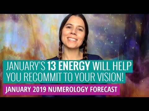 January 2019 Numerology Forecast: Recommit To Your Vision (Nat's Numbers)