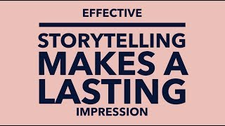Effective Storytelling Makes A Lasting Impression, Authentic. Leadership Training, Jeff Chavez