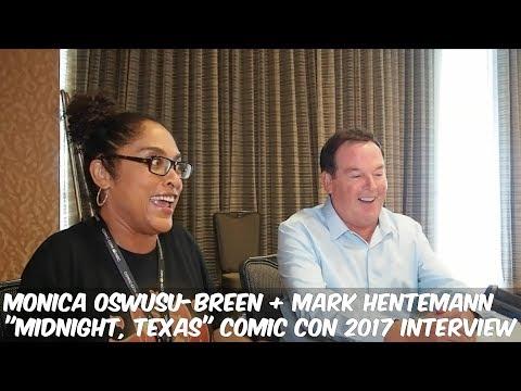 """MIDNIGHT TEXAS"" EXECUTIVE PRODUCERS MONICA OWUSU-BREEN + MARK HENTEMANN (SDCC 2017 INTERVIEW)"