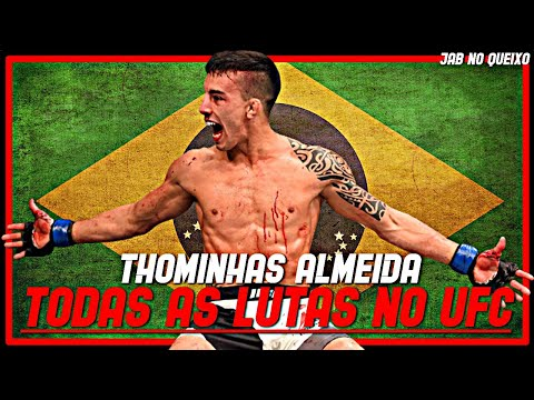Thomas Almeida TODAS As Lutas No UFC/Thomas Almeida ALL Fights In UFC