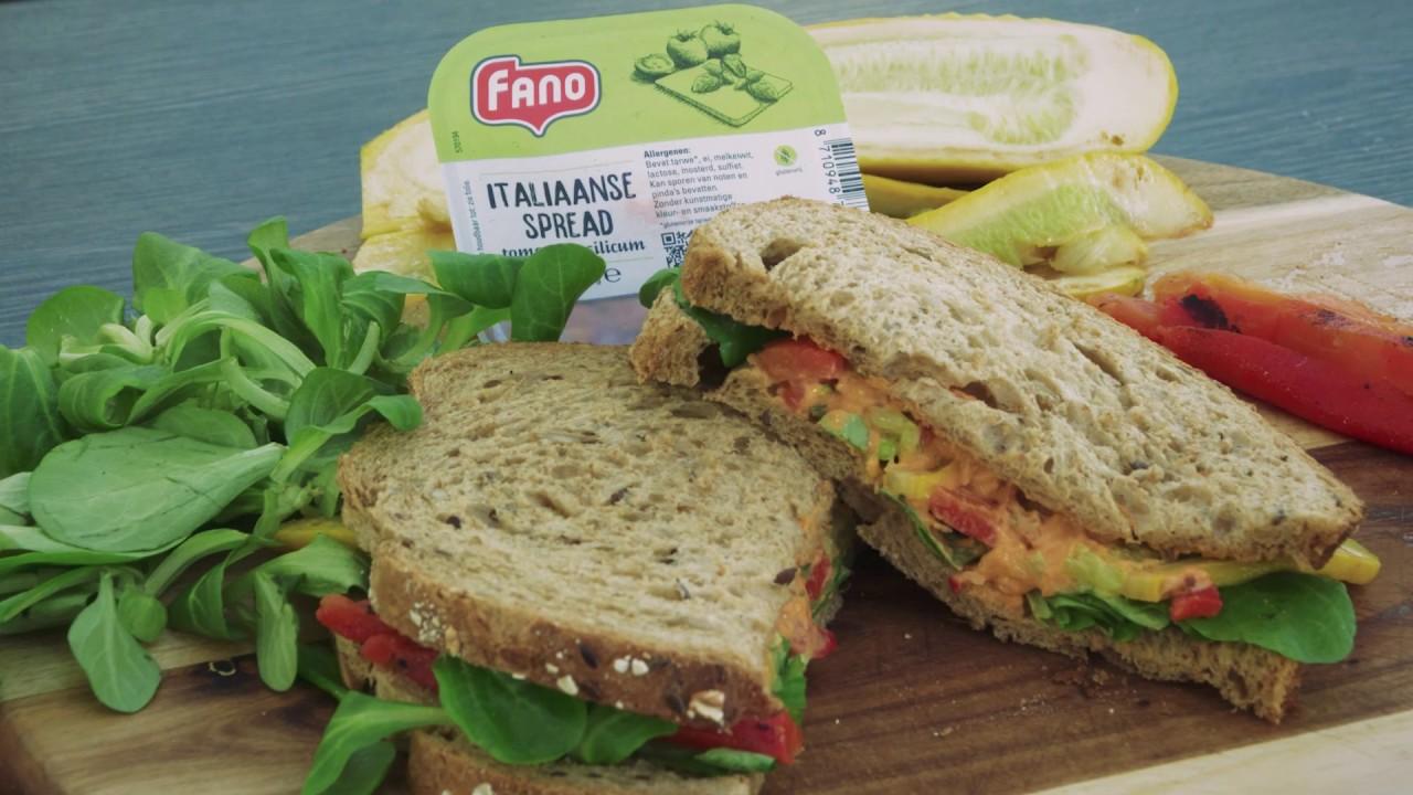 Boerenbrood met Fano Italiaanse spread door Zandhove Zwolle