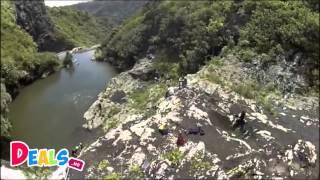 canyoning tamarind falls cascades de tamarin mauritius – ile maurice
