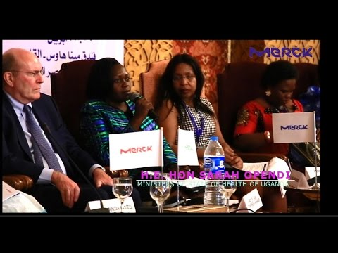 Merck More Than A Mother Campaign - Pan African Launch -H.E.Hon. Sarah Opendi