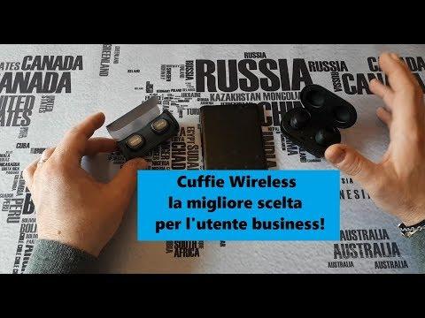 Cuffie Wireless la migliore scelta per l'utente business