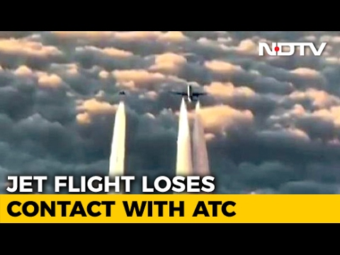 WATCH: Jet Airways Plane Escorted By German Air Force After Going Silent Mid-Air