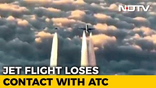 WATCH: Jet Airways Plane Escorted By German Air Force After Going Silent Mid Air