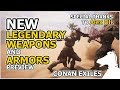New Legendary Weapons and Armors - SOON in the Game #2 | CONAN EXILES