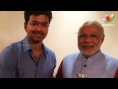 Vijay Opens up on his Meeting with Narendra Modi | Hot Tamil Cinema News thumbnail