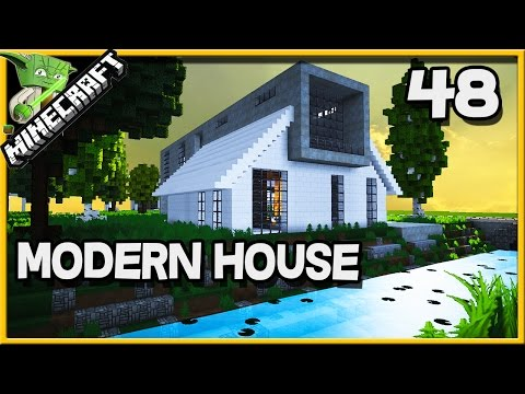 Minecraft Modern House 48 - designed by an architect??