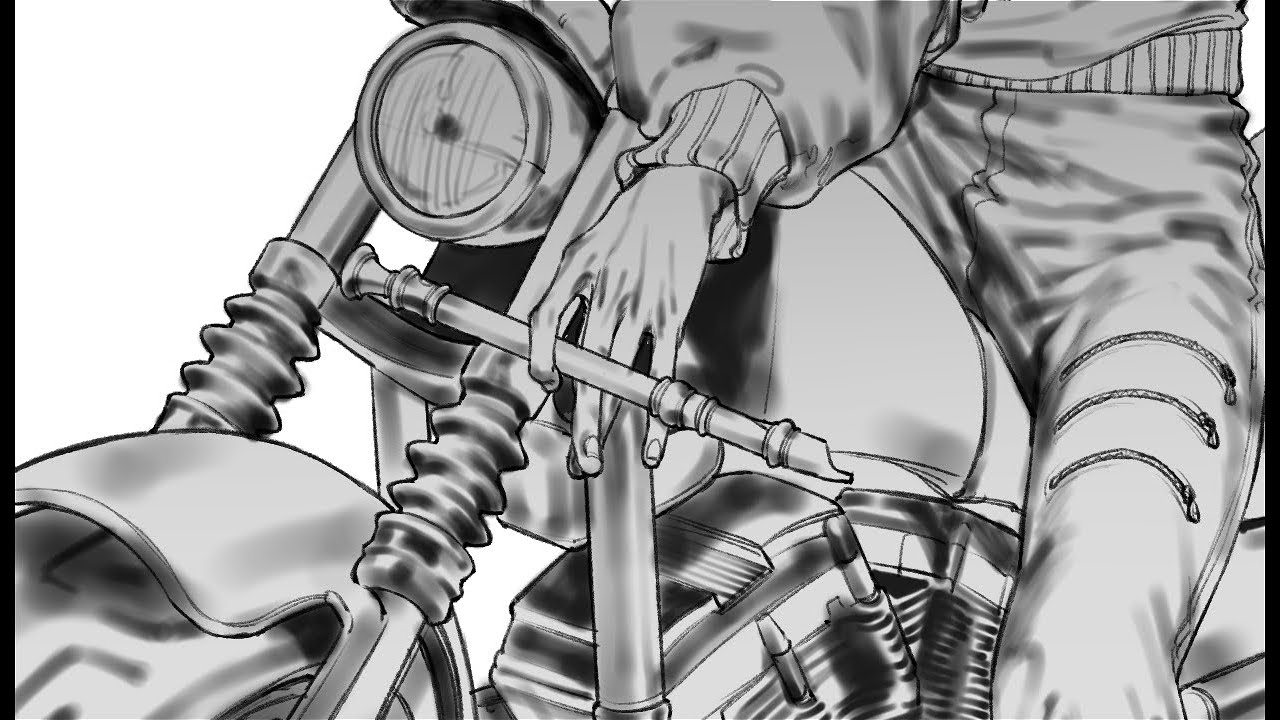 펜터치 스피드페인팅 [speed painting CLIP Studio]