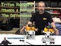 Triton Routers TRA001 & MOF001 Differences - Holtonsfixit101