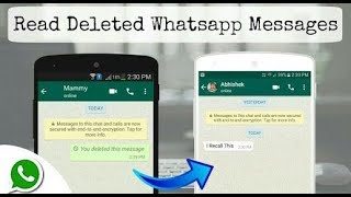 [Hindi]How to read deleted messages on WhatsApp! 100% WORKS 2018 edition || simple steps...