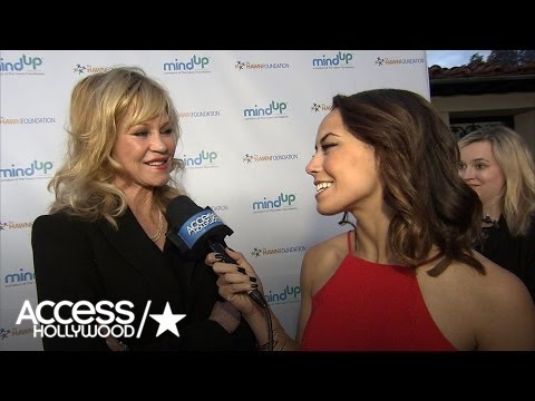 Melanie Griffith On Daughter Dakota Johnson: 'She Knows What She Wants' | Access Hollywood