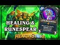 Healing Rain and The Runespear ~ Kobolds & Catacombs ~ Hearthstone
