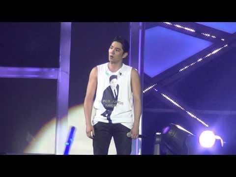 "[Fancam Kangin] 131130 SS5 Macau Super Junior ""Marry U"""