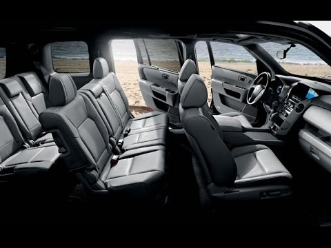 2015 Honda Pilot interior details - YouTube