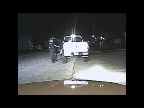 Berkeley County Sheriff Wayne DeWitt being stopped after drunken hit and run