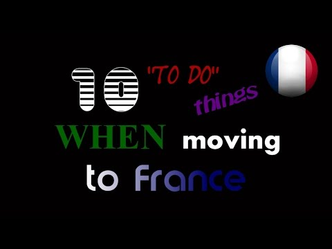 France #10 - 10 to do things when moving to France  (NAPISY PL)