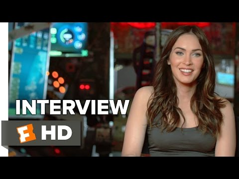 Teenage Mutant Ninja Turtles: Out of the Shadows Interview - Megan Fox (2016) - Action Movie HD