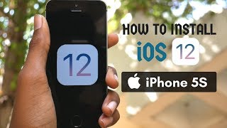How to install iOS 12 on the iPhone 5S or any iOS Device | Tutorial