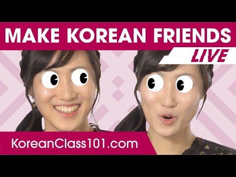 How to Make Korean Friends 🔴 | Learn Korean LIVE @1pm KST on Thu.