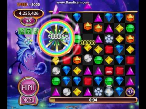 THE GREATEST BEJEWELED BLITZ GAME EVER PLAYED [Rainbow Bloom]