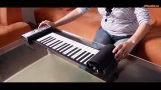 Гибкое пианино-синтезатор с мягкими клавишами