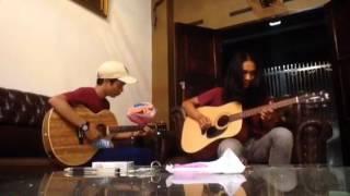 Asal Kau Bahagia (cover) ilham ft lamlam