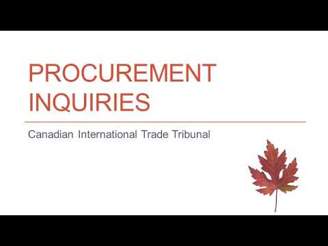 Procurement Inquiries: 3-Minute Webinar