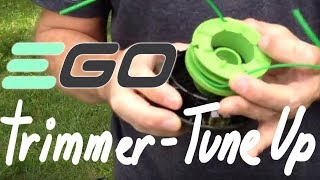 EGO 56 volt Straight Trimmer - Tune UP Tips and Tricks