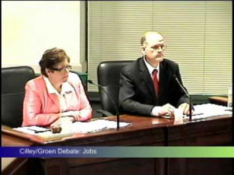 Cilley / Groen Debate 2010 Part 02
