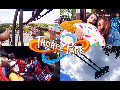 FOLLOW ME TO: Thorpe Park! | Cherry Wallis