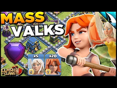 Time To Use Mass Valks After UPDATE | Is It Possible To 3 Star? | Clash Of Clans