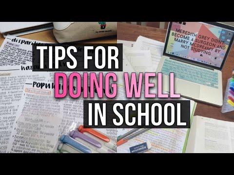 Tips For Doing Well In School! | Reese Regan