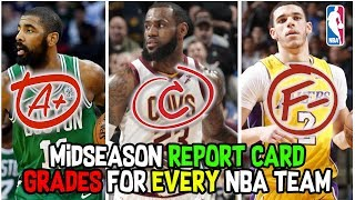Mid-Season Report Card Grades for Every NBA Team!