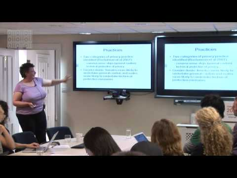 Privacy Awareness: An Inclusive Design Approach (EINS Summer School 2012)
