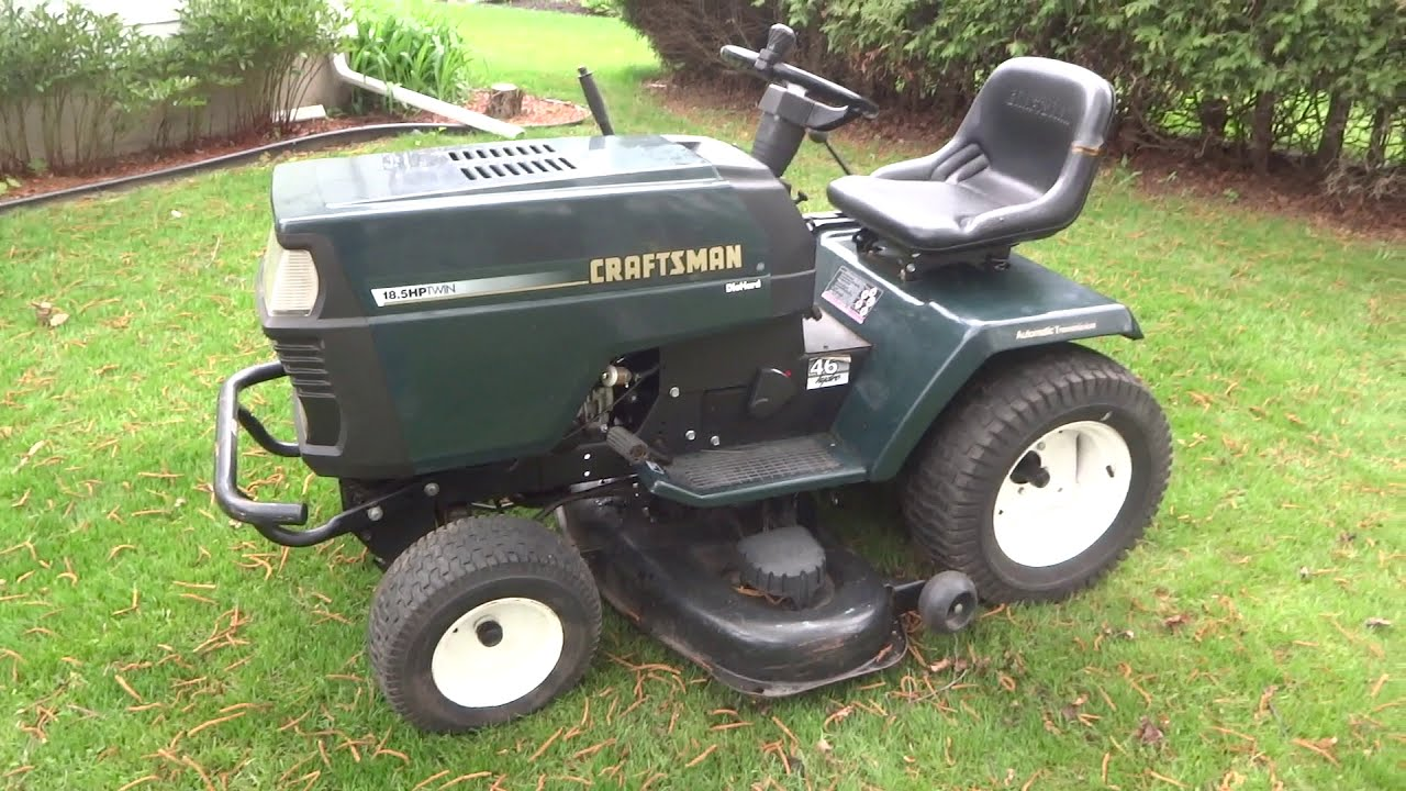 1998 Craftsman GT - Lawn and Garden Tractor