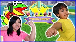 ROBLOX TOURNAMENT Ep 2 ! Ice Breaker + Cursed Islands Let's Play with Ryan Vs. Mommy + Gus